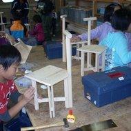 体験学習教室(チェアー作り教室)
