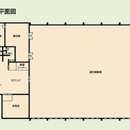 屋内広場平面図