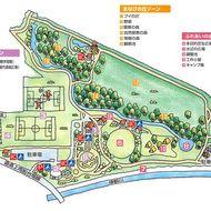 カムイの杜公園マップ