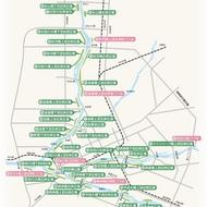 河川公園(石狩川水系緑地)イメージマップ