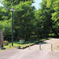 公園入口(忠別川河畔側)