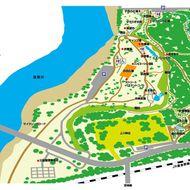 神楽岡公園案内図