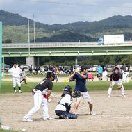 軟式野球場(旭川大橋左岸広場)